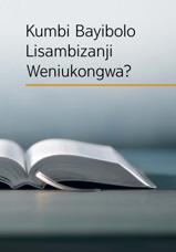 Kumbi Bayibolo Lisambizanji Weniukongwa?