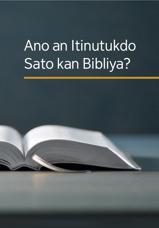 Ano an Itinutukdo Sato kan Bibliya?