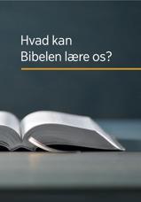 Hvad kan Bibelen lære os?