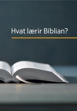 Hvat lærir Bíblian?