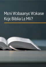 Mɛni Wɔbaanyɛ Wɔkase Kɛjɛ Biblia Lɛ Mli?