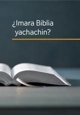 ¿Imara Biblia yachachin?