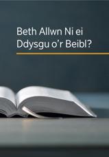 Beth Allwn Ni ei Ddysgu o'r Beibl?