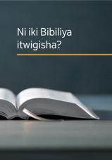 Ni iki Bibiliya itwigisha?