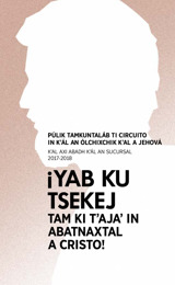 Programa in k'ál an púlik tamkuntaláb ti circuito 2017-2018 (axi abadh k'al an sucursal)