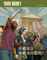 2013年7月  示威抗议能解决问题吗?