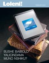 February2015  Bushe Baibolo Yalicindama Muno Nshiku?