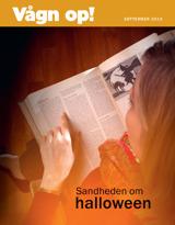 September 2013  Sandheden om halloween