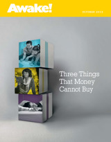 October 2013 | Three Things That Money Cannot Buy