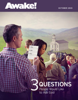 October 2015 | 3 Questions People Would Like to Ask God