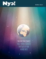March2014| Nuwɔwɔwo Ŋu Nya Siwo Woɣla Ðe Amewo
