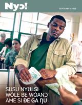September2015| Susu Nyui Si Wòle Be Wòanɔ Ame Si Ðe Ga Ŋu