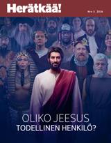 Nro5 2016| Oliko Jeesus todellinen henkilö?
