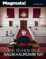 Nobiembre2015| Ang Relihion Bala Nagakaalimunaw Na?