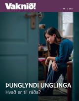 Nr.1 2017  Þunglyndi unglinga –hvað er til ráða?