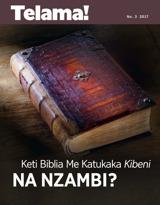 No.3 2017  Keti Biblia Me Katukaka Kibeni na Nzambi?