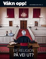 November2015| Er religion på vei ut?