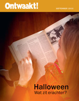 september2013| Halloween: Wat zit erachter?
