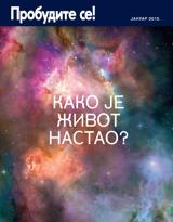 јануар2015.| Како је живот настао?