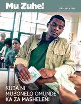 September2015| Kuba ni Mubonelo Omunde ka za Masheleñi