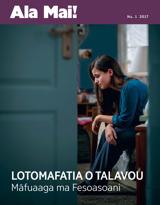 Nu.1 2017| Lotomafatia o Talavou—Māfuaaga ma Fesoasoani