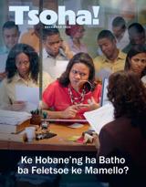 December2012| Ke Hobane'ng ha Batho ba Feletsoe ke Mamello?