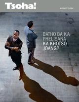 August2014  Batho ba ka Phelisana ka Khotso Joang?