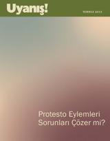 Temmuz2013  Protesto Eylemleri Sorunları Çözer mi?