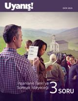 Ekim2015| İnsanların Tanrı'ya Sormak İsteyeceği 3 Soru