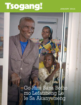 January2013| Go Ruta Bana Botho mo Lefatsheng Le le Sa Akanyetseng