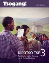 October2015| Dipotso Tse 3 Tse Batho ba ka Ratang go di Botsa Modimo