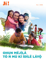 No.2 2018| Ohun Méjìlá TóŃMú Kí Ìdílé Láyọ̀