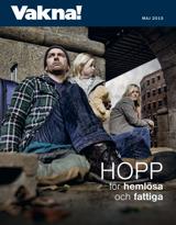 Maj2015| Hopp för hemlösa och fattiga