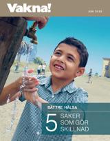 Juni2015  Bättre hälsa – 5 saker som gör skillnad