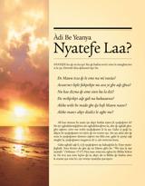 Àdi Be Yeanya Nyateƒe Laa?