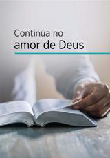 Continúa no amor de Deus