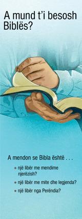 A mund t'i besosh Biblës?