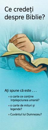 Ce credeţi despre Biblie?
