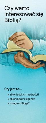 Czy warto interesować się Biblią?