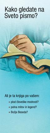 Kako gledate na Sveto pismo?