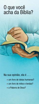 O Que Você Acha da Bíblia?