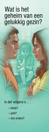 Wat is het geheim van een gelukkig gezin?