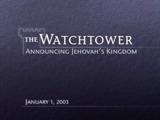 January1, 2003