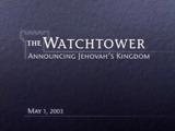 May1, 2003