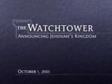 October1, 2003
