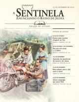 Setembro de 2012| A Sentinela — edição de estudo, 15 de setembro de 2012