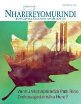 September2014| Vanhu Vachaparadza Pasi Rino Zvokusagadzirisika Here?