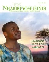 December2014  Unogona Kuva Pedyo naMwari