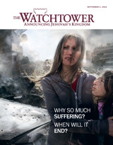 September 2013 | Why So Much Suffering? When Will It End?