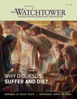 No. 2 2016 | Why Did Jesus Suffer and Die?